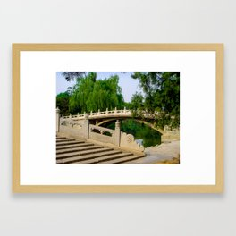 Bridges at Beijing's Summer Palace Framed Art Print