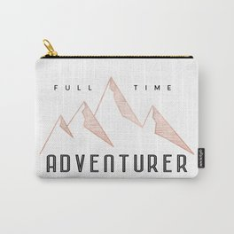 Full Time Adventurer Rosegold Mountains Carry-All Pouch