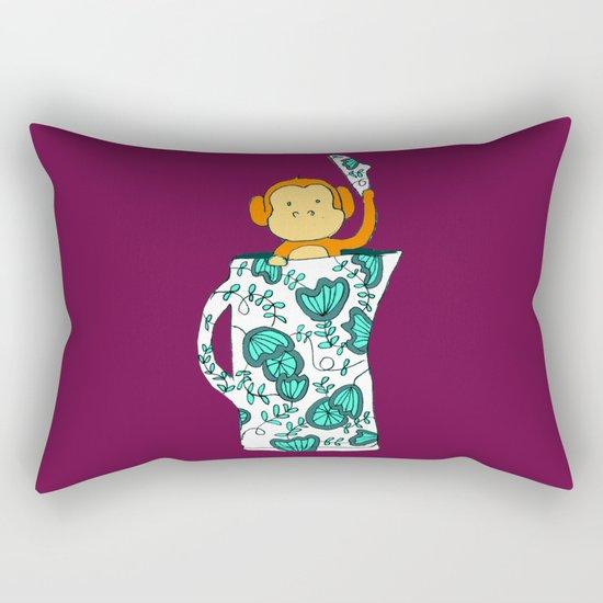 Dinnerware sets - Monkey in a jug Rectangular Pillow