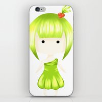 pear iPhone & iPod Skins featuring Pear by wtli