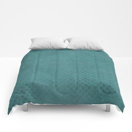 The Green Lagoon - Solid Colors Comforters
