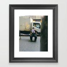Barcelona cigar Framed Art Print