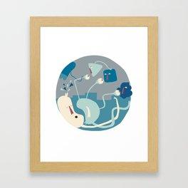 Entanglements 1 Framed Art Print