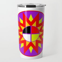 Burst Design Travel Mug