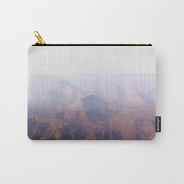 Smoky Hazy Days in the Grand Canyon Carry-All Pouch