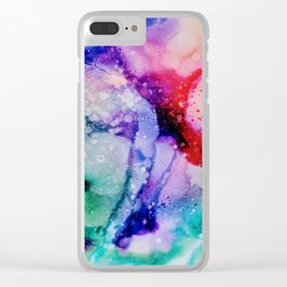 Celestial Bliss Clear iPhone Case