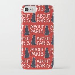 About Paris by Richard Harding Davis (c. 1895) iPhone Case