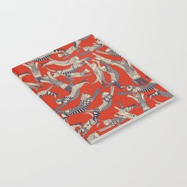 cat party retro Notebook
