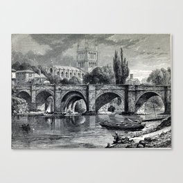 Cathedrals, abbeys and churches of England and Wales Canvas Print