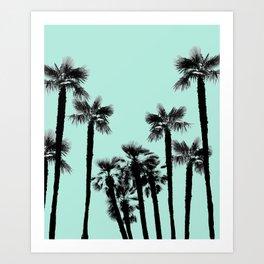Tropical Palm Trees Dream #5 #tropic #decor #art #society6 Art Print
