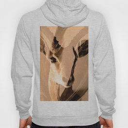 Beautiful and fast - Impala portrait Hoody