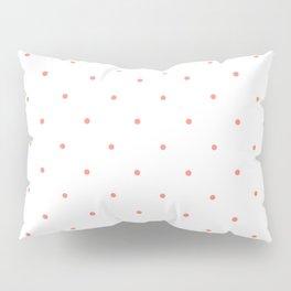 Pink Polka Dots Pillow Sham
