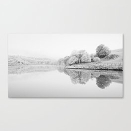 River Usk, Newport Canvas Print