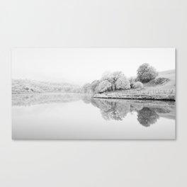 River Usk, Newport Canvas Print