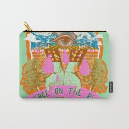 PEACE ON THE RISE Carry-All Pouch