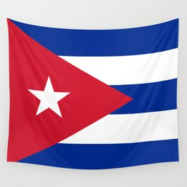 National flag of Cuba - Authentic HQ version Wall Tapestry