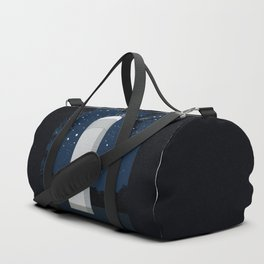 Tower in the forest Duffle Bag