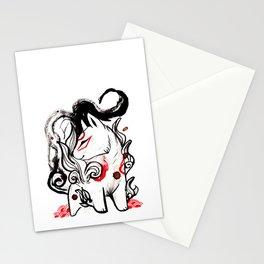 Chibi Amaterasu Okami I Stationery Cards