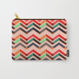 just art wallpapper with lines Carry-All Pouch
