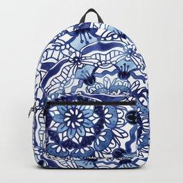 Delft Blue Mandalas Backpack