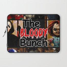 Friends IT Spooky Clown Jason Squad Halloween Laptop Sleeve