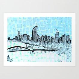 Brisbane Series #13 Art Print