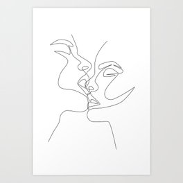Intense & Intimate Art Print