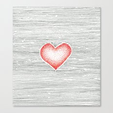 I love you this much Canvas Print