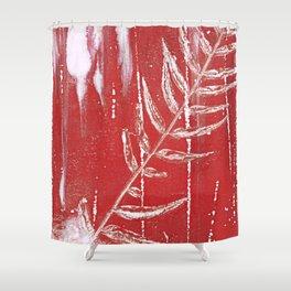 Bleed Through Shower Curtain