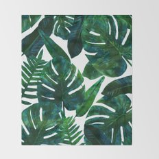Perceptive Dream || #society6 #tropical #buyart Throw Blanket