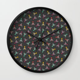 No Flies On Me Wall Clock