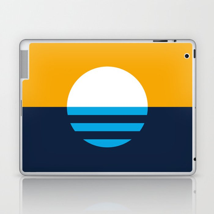 The People's Flag of Milwaukee Laptop & iPad Skin