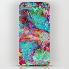abstract orchid Slim Case iPhone 6 Plus