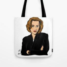 Dana Scully- Fan Art Tote Bag