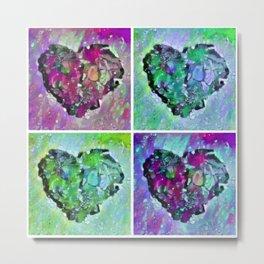 420 Hearts Quad 2a Metal Print