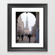 Gdansk Framed Art Print
