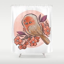 Spring Bird Shower Curtain