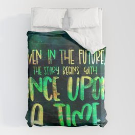 Once Upon A Time (Cinder) Duvet Cover