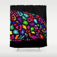 jaguar Shower Curtains featuring jaguar by myepicass