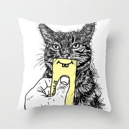 Being Framed Throw Pillow