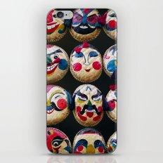 Masks iPhone & iPod Skin