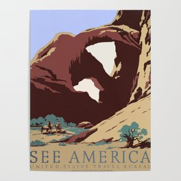 See America National Park Poster Poster