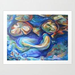 Spirited Waters Art Print