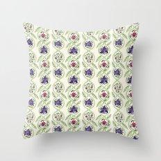Nouveau Florals Throw Pillow
