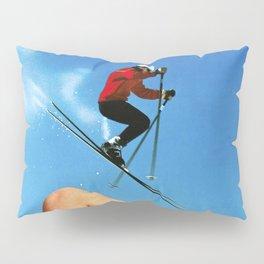 Skiing Time! Pillow Sham