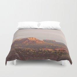 Sedona Arizona print. Vortex No. 3 Duvet Cover