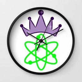 SMART Science Queen - Science Princess Wall Clock