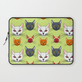 Various colored cats Laptop Sleeve