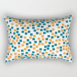 Abstract colorful mosaic pattern Rectangular Pillow