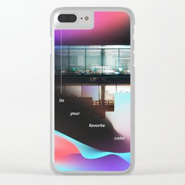 15 - it's your favorite color Clear iPhone Case